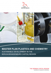 Cover Master Plan Plastics and Chemistry Brandenburg