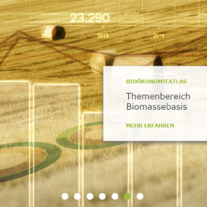Bioökonomieatlas Screenshot